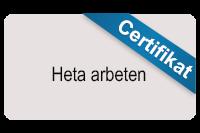 Heta arbeten-certifikat