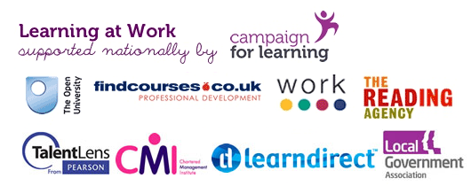 Learning at Work Week is supported nationally by key partners