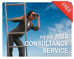 Try our free MBA Consultancy service