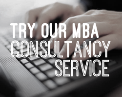 Try our free MBA Consultancy service!