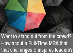 Find out how this full-time MBA will inspire and challenge you