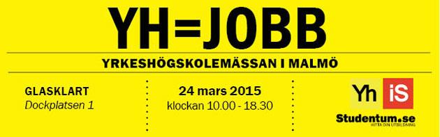 Yrkeshögskolemässan i Malmö