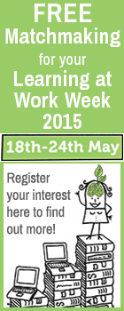 Register your workplace for Learning at Work Week 2015