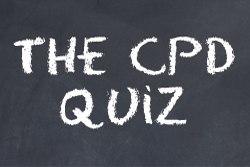 Take the CPD Quiz