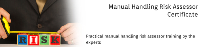 Manual Handling Risk Assessor Certificate: In-House Training Programme