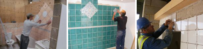 Tiling Course with Goldtrowel
