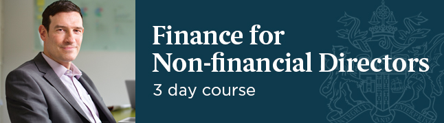 Finance for Non-Financial Directors Course