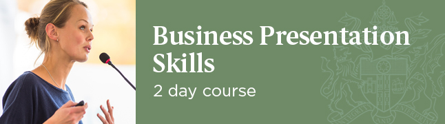 Business Presentation Skills Course