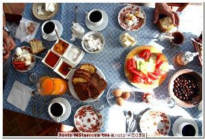 Frukostbordet!