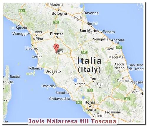 Jovis Målarkurs Målarresa - Italien - Toscana!