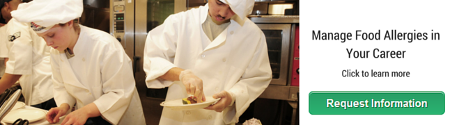 Online Course in Allergies for chefs and food-handlers
