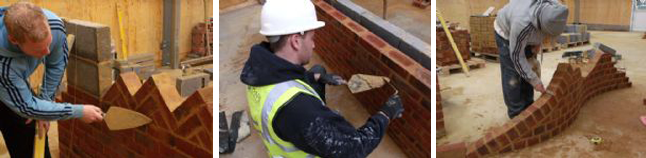 NVQ Level 2 Bricklaying Course