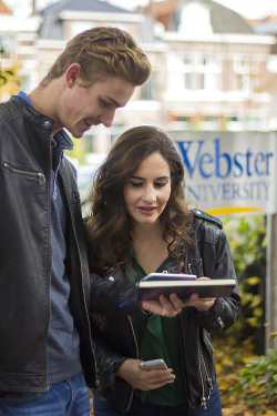 Webster University Leiden Students