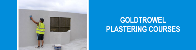 Goldtrowel Plastering - The UK's leading training provider of plastering courses