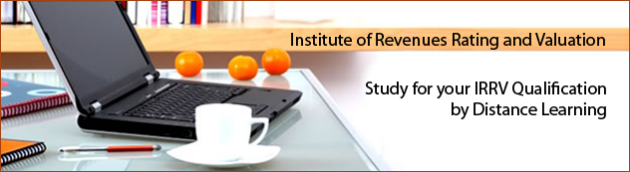 Institute of Revenues Rating and Valuation - Distance Learning IRRV qualification