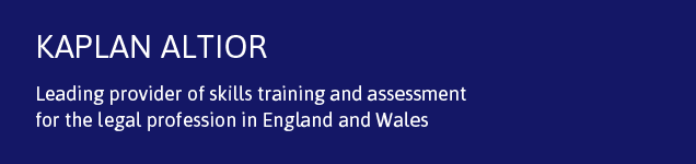 Kaplan Altior - Leading provider of skills training and assessment for the legal profession
