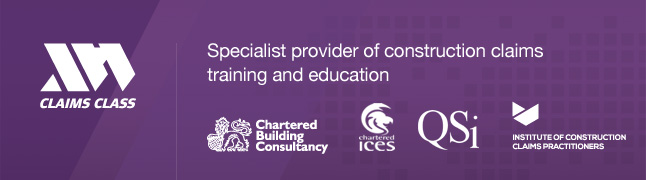 Claims Class Specialist Construction Claims Training