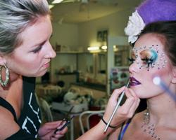 Praktikjobs under makeup artist uddannelsen