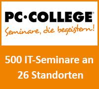 Über 500 Seminare an 26 Standorten