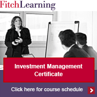 Investment Management Certificate