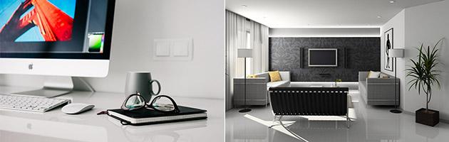 Uddan dig til indretningsarkitekt online eller i udlandet