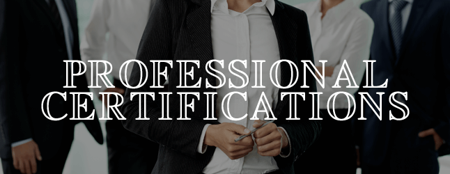 Professional Certifications in America