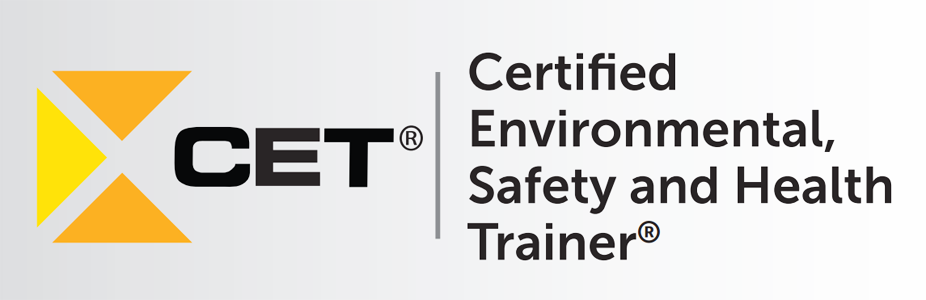 Certified Environmental Safety Health Trainer Cet