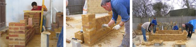 Bricklaying course with Goldtrowel