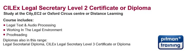CILEx Level II: Certificate for Legal Secretaries