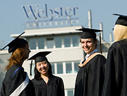 Webster graduate students