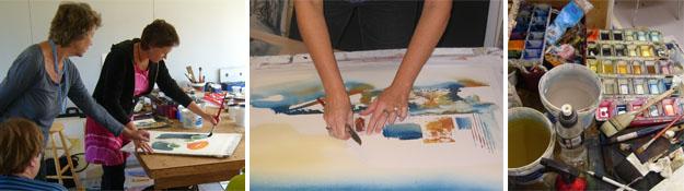 Akvarellkurs en kväll   eftermiddag i Linköping 1b28f519196d4