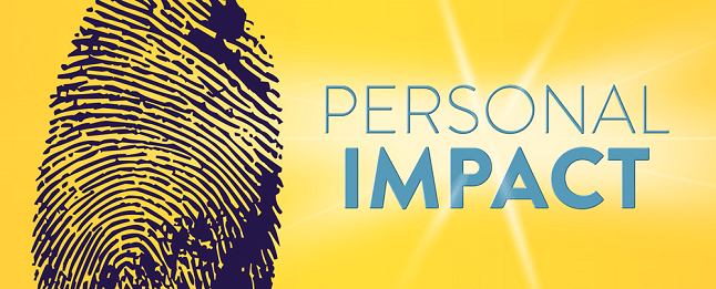 impact personal impression count course