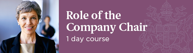 Role of the Company Chair - IoD