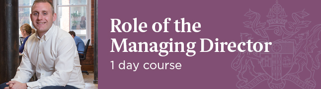 Role of the Managing Director - IoD