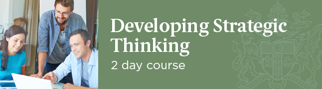 Developing Strategic Thinking Course