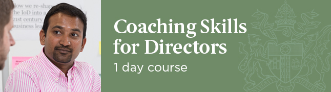 Coaching Skills for Directors Course