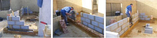 House Extension Bricklaying - training course with Goldtrowel