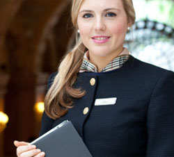 Swiss Hotel Management Student