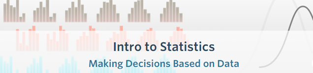 Introduction to Statistics E-learning from Udacity