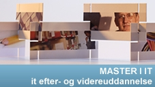 Masteruddannelse i IT - Efteruddannelse for it-professionelle