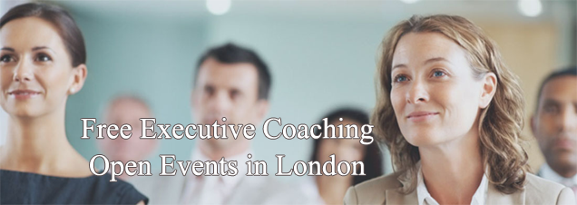 Free Executive Coaching Open Event