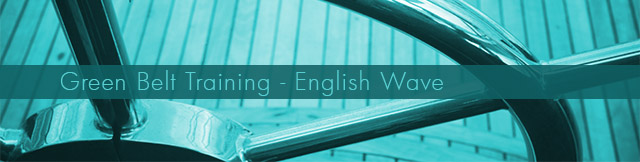 Green Belt Training, Coaching and Certification, English Wave