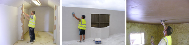 City & Guilds Plastering Course