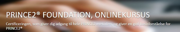 PRINCE2® Foundation kursus via e-learning