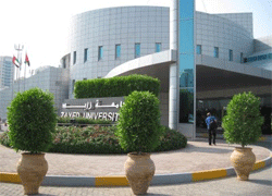 Zayed University MBA & MPA programs