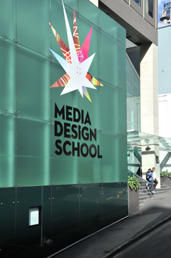 Media Design School Auckland New Zealand