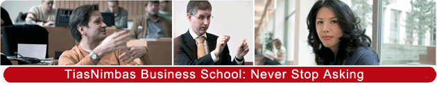 TiasNimbas - International and Executive MBA programs at an Internationally Top Ranked Busines School