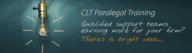 CLT Paralegal Training