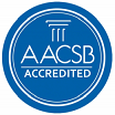 AACSB accredited stamp