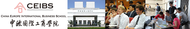 CEIBS MBA programs in China